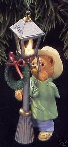 1993 The Lamplighter Magic Hallmark (Victorian Bears Stocking)
