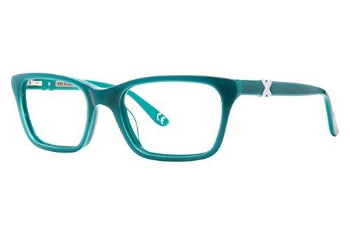 Corinne McCormack Park Ave Womens Eyeglass Frames - - Glasses Turquoise Frames