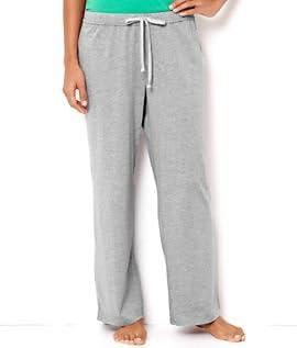 Nautica Womens Ash Heather Knit Lounge Pants X-small