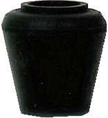 Shepherd Hardware 3201 1/2-Inch Rubber Leg Tip, 40-Pack - Black Vinyl Leg Tip