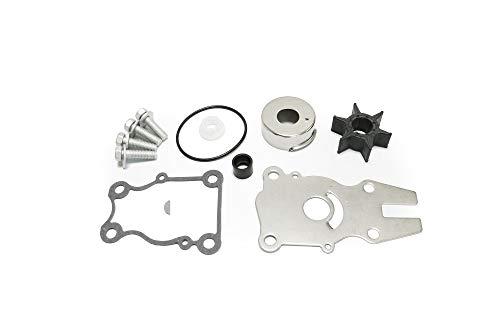 JingSer Yamaha 40HP 50HP 60HP Outboard Water Pump Repair Kit Impeller Replacement 63D-W0078-01 Sierra 18-3434