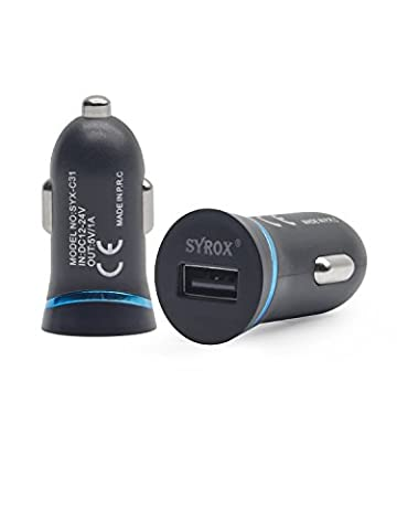#1 for Motorola ic402 Blend The Blend ic402 Car Charger, Original ACGoods Mobile USB Fast Quick Charge Quality Android iOS Type C 1.0A Fastest Black Blue Adapter - 2 Years - Ic402 Blend