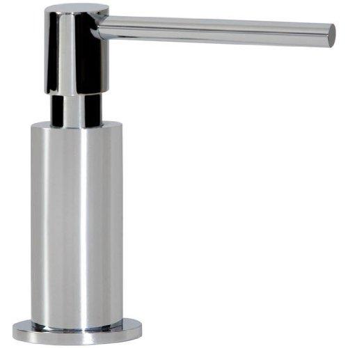 Franke SD-680 Rounded In-Sink Soap or Lotion Dispenser, Satin Nickel by Franke