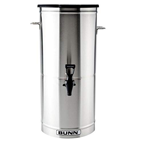 Bunn 34100.0001 TDO-5 5 Gallon Iced Tea Dispenser with Solid Plastic Lid TB3