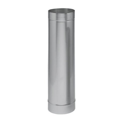 Chimney 21043 6 x 24 Inch Heatfab Saft Liner Rigid 316-alloy