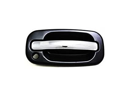 Plastic Smooth Finish Depo 332-50001-122 Front Driver Side Replacement Exterior Door Handle