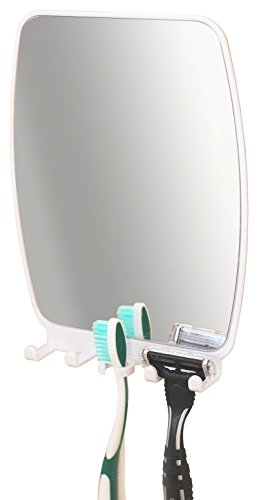 DecoBros Bathroom Shower Mirror toothbrush