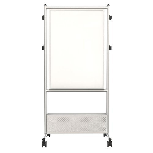 DuraRite Nesting Mobile Whiteboard Silver Frame by Best-Rite