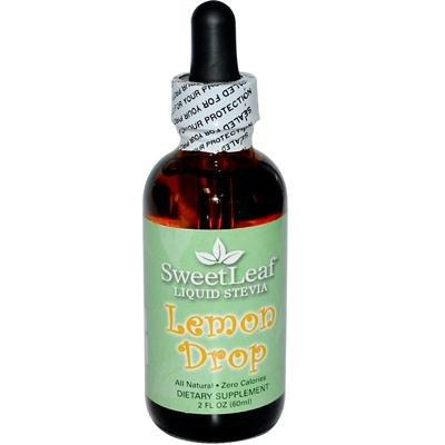Sweet Leaf Lemon Drop Flavor Stevia Clear Liquid, 2 Ounce - 3 per case.