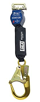 Blue//Black 3101500 6/' Twin Leg Connector with Steel Swiveling Snap Hook Ends Capital Safety 3M DBI-SALA Nano-Lok Hot Work 3101500 6 Twin Leg Connector with Steel Swiveling Snap Hook Ends