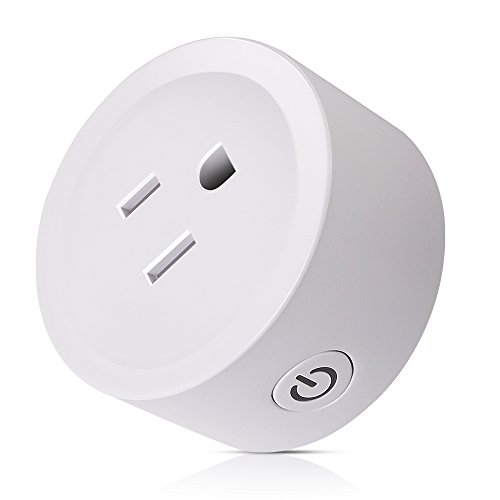 Lio SHAAR Wi-Fi Smart Plug Mini Outlet with Energy Monitoring, Compatible with Alexa Echo and Google Assistant,Timing Switch Energy Monitoring Smart Socket,white