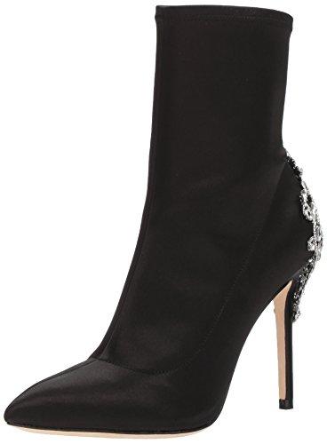 Badgley Mischka Women's Meg Ankle Boot, Black, 9 M US by Badgley Mischka