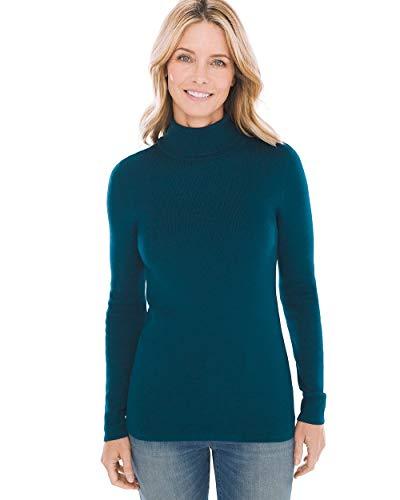 Chico's Women's Coolmax Turtleneck Sweater