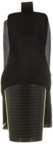 Botines Erica The Divine Factory 001 noir Femme Noir TaBRx1w