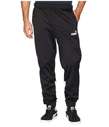 PUMA Men's Iconic Tricot Pants CL Puma Black/Puma White X-Large 31 ()