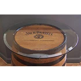 Add a 30″ Glass Table Top to Your Whiskey or Wine Barrel-Glass TOP ONLY