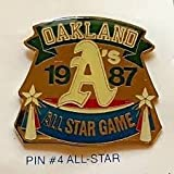1987 Oakland A's All-star Pin