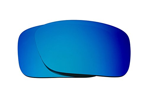 Best SEEK OPTICS Replacement Lenses Oakley CRANKCASE - Polarized Blue - Oakley Mirror Blue Lens