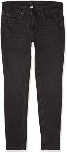 Washed da Grau Used Dark donna straight D975 Dream Skinny Pantolon Grey MAC wpqIOBva
