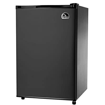 Igloo 4.5 cu. ft. Refrigerator and Freezer, black
