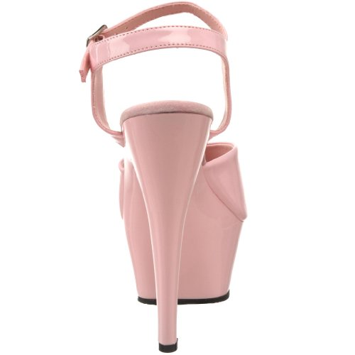 Pleaser KISS-209 - Sandalias de vestir para mujer Rosa