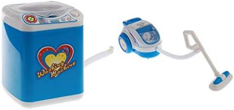 プラスチック製 ままごと 家事 掃除機&洗濯機 家電 おもちゃ キッズロールプレイおもちゃ
