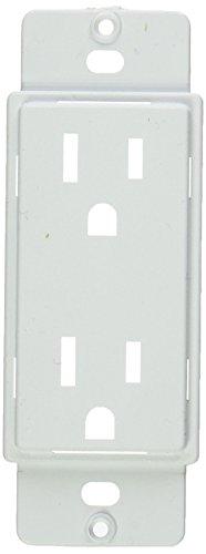 Taymac MWAD20W Masque 5000 Series Nonmetallic Adapter Plates, Duplex, White - Duplex Adapter White