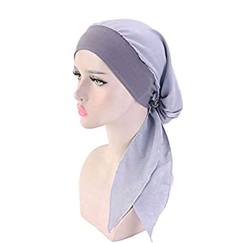 Cappello turbante in cotone per donna Cappellino chemio in cotone con stampa floreale