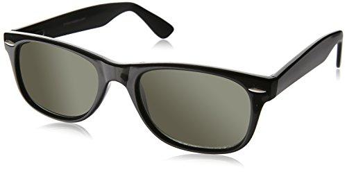Dr. Dean Edell SLR Black Wayfarer Bifocal Reading Sunglass, +1.25, 0.200 - Bifocal Edell Sunglasses Dr Dean