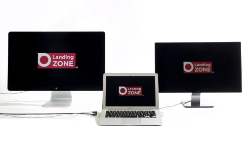 LandingZone 2.0 PRO 13'' Secure Docking Station for 13-inch MacBook Air Model A1466 Released 2012 - 2015 by LandingZone