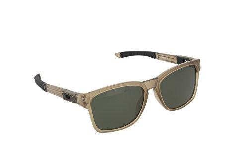Oakley Men's Catalyst OO9272-01 Square Sunglasses, Sepia, 55 mm