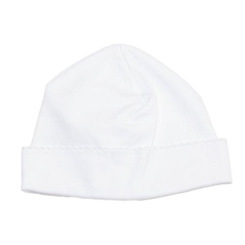 (Kissy Kissy Baby Boys' Hat (Baby) - White - Preemie)