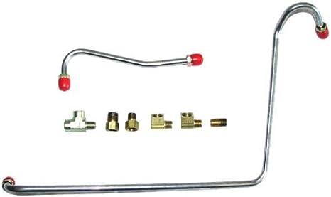 402ci, 4 Barrel Carburetor The Right Stuff CPC7101 Fuel Pump to Carburetor Line