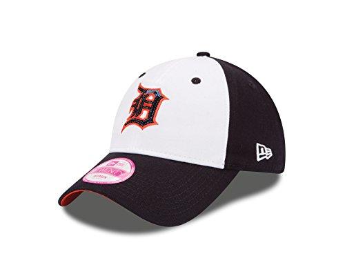 Detroit Tigers Baseball Hat (MLB Detroit Tigers Women's Team Glimmer 9TWENTY Adjustable Cap, One Size, Navy)