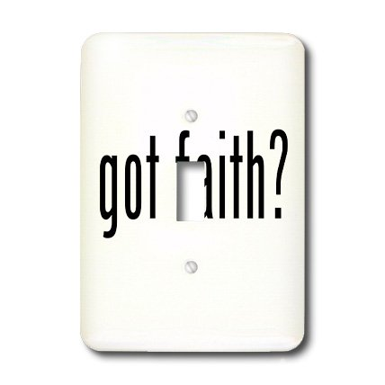 lsp_15959_1 Mark Andrews ZeGear Spiritual - Got Faith - Light Switch Covers - single toggle switch by 3dRose