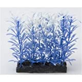 Fish 'R' Fun Aquarium Plant Blue & Base 4''