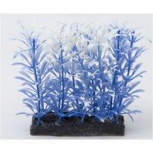 Fish 'R' Fun Aquarium Plant Blue & Base 4'' by FRF