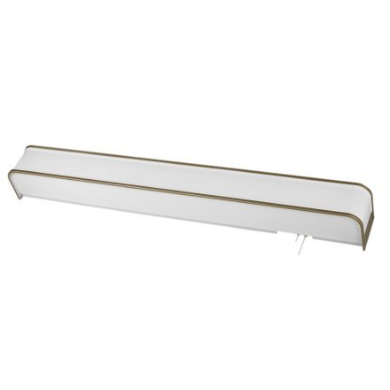 MSEC by AFX, LED Contemporary Overbed Light w/ Decorative Accent Trim, 45 watt - Champagne