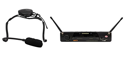 Samson AirLine 77 Headset True Diversity UHF Wireless System with Vocal Microphone (Channel N1) (Acoustic Panel Reception)