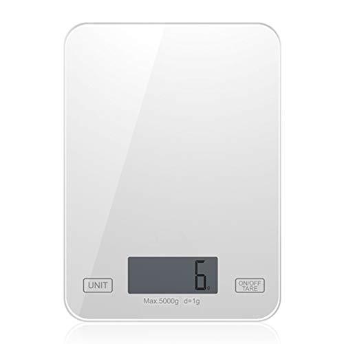 HUIFEI 1g Escalas De Hornear De Alta Precisión Joyería 5 Kg Balanza Electrónica De Cocina Fácil De Almacenar Balanzas De...