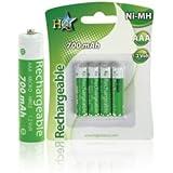 Wiederafladbare Batterie Ersatzakku Akku AAA Schnurlostelefon passend für Telefon Gigaset C300 C430 DUO TRIO