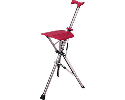 Ta-Da Chair(ターダチェア) ローズレッド 532-392 (アロン化成) (杖ステッキ) B01M8M2JR2