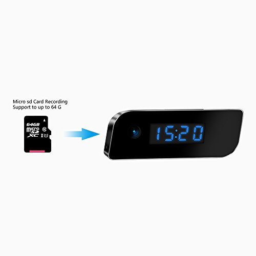 Eyeclub Wi-Fi Hidden Camera Clock Hd Live Video Streaming -2302