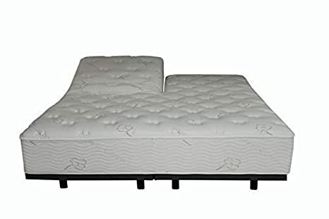 Amazon.com: Colchón de espuma viscoelástica híbrida con ...