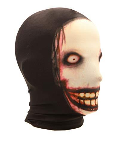 Unisex Horrible Cosplay Jeff T-Killer Elastic Face