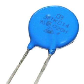 Varistors 180volts 20mm 5 pieces