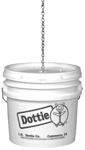 L.H. Dottie CH1414 Jack Chain, No.14 Gauge, Bright Galvanized