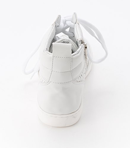 Steve Madden Womens Mikeyy Lace Up White hMHIRywkp