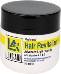 LA Hair Revitalizer Advanced Light Formula w/Vitamins A, D & E 4 Oz.