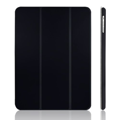 JETech iPad Air Case Slim-Fit Smart Case Cover for Apple iPad Air iPad 5 with Auto Sleep/Wake Feature (Black) (Ipad Air Cover Case compare prices)